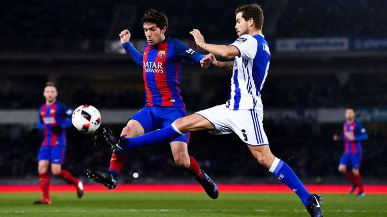 INMINENTE: Íñigo Martínez, a un paso de fichar por el Barça