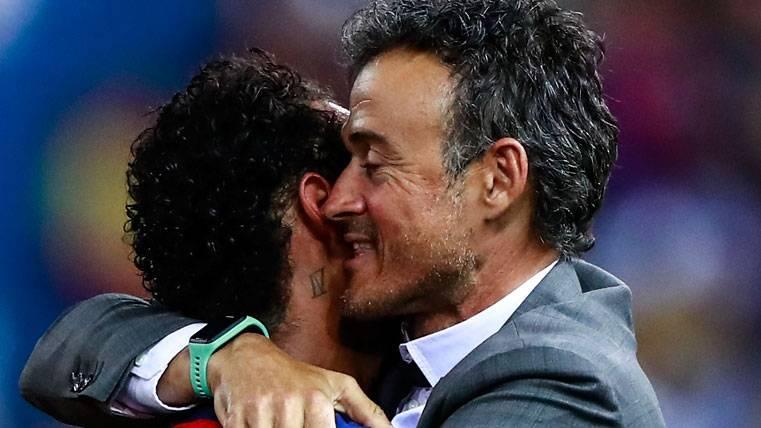Sentido mensaje de Luis Enrique sobre la marcha de Neymar