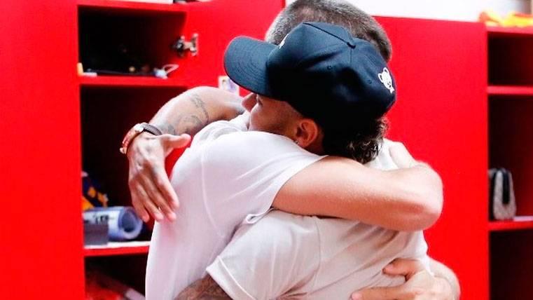 Ahora sí: Gerard Piqué se despide de su 'hermano' Neymar