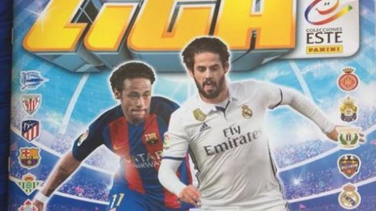El 'epic fail' de los cromos de LaLiga con Neymar culé