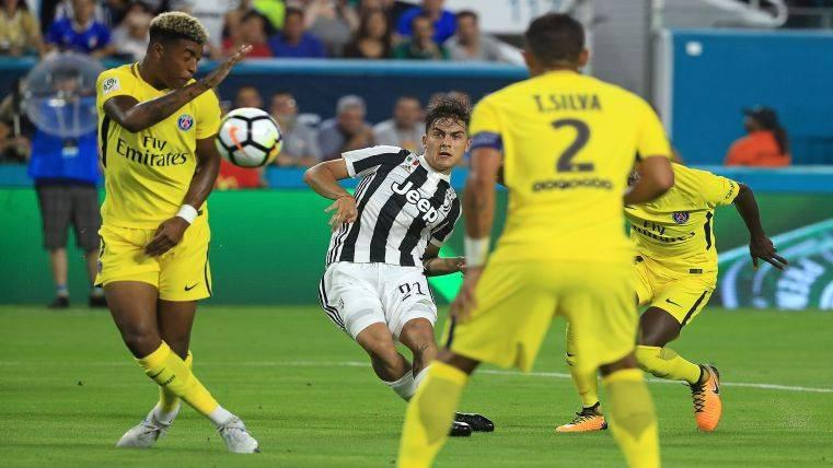 El Barça ofrece a Gomes y Rafinha para fichar a Dybala