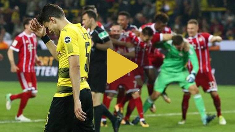 Bartra falló el penalti decisivo en la Supercopa alemana