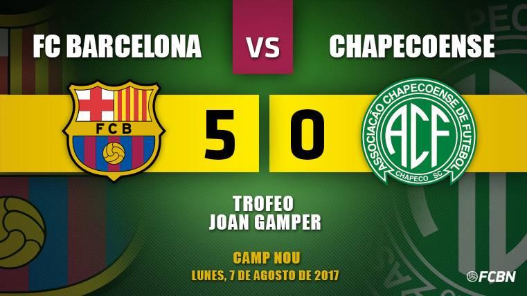 Deulofeu brilla en el triunfo del Barça en el Gamper