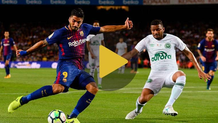 Vídeo resumen: FC Barcelona 5 Chapecoense 0 - Gamper
