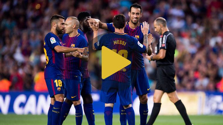 ¡Busquets la clavó en la escuadra y sorprendió al Camp Nou!