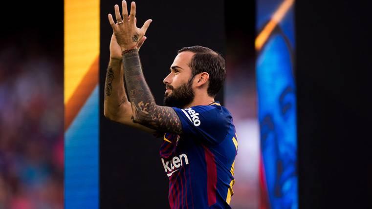 Aleix Vidal vive su mejor momento en el FC Barcelona