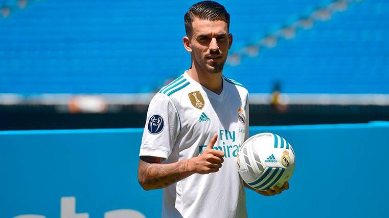 Ceballos se 'cae' en su primer partido importante con el Madrid