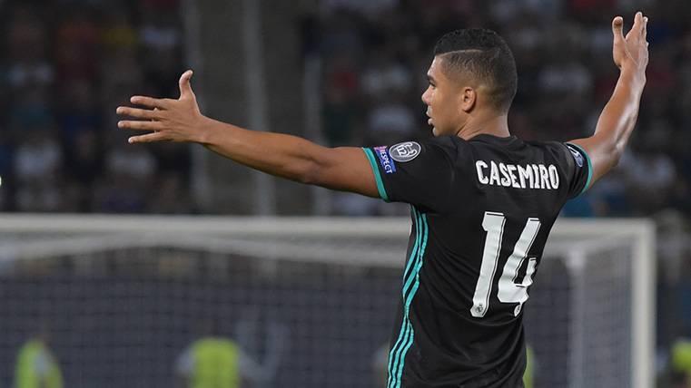 El Madrid no echa de menos el VAR: Gol dudoso de Casemiro