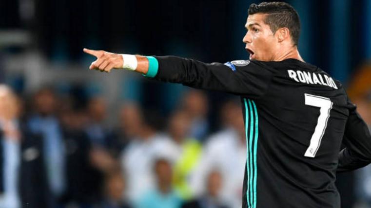 Cristiano, una de las dudas de Zidane para la Supercopa