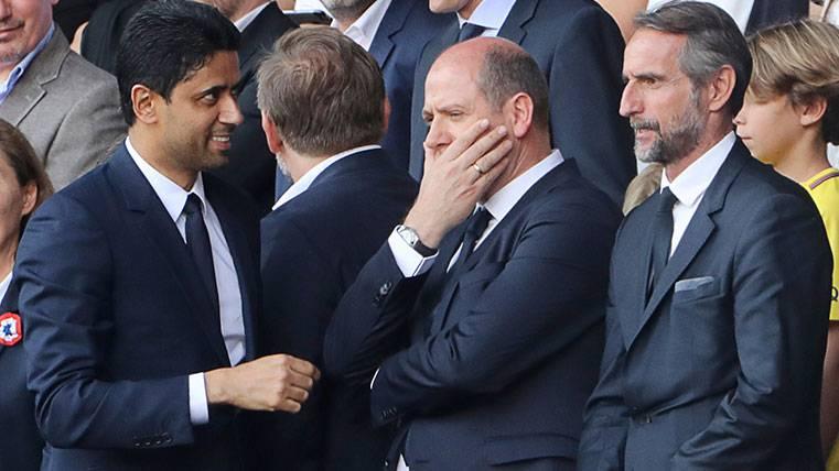 Al-Khelaïfi visita Madrid y desata los rumores sobre el PSG