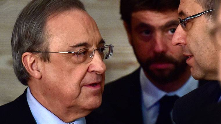 Florentino Pérez tiene un plan para los fichajes del Barça