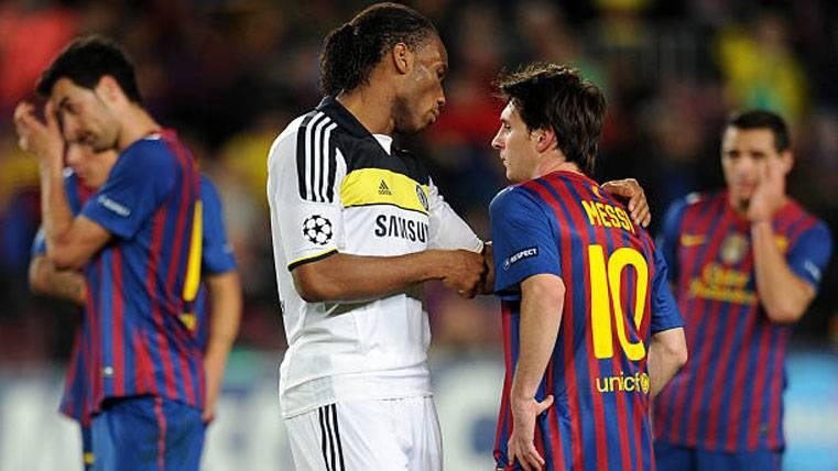 La anécdota de Drogba sobre la histórica racha de Messi