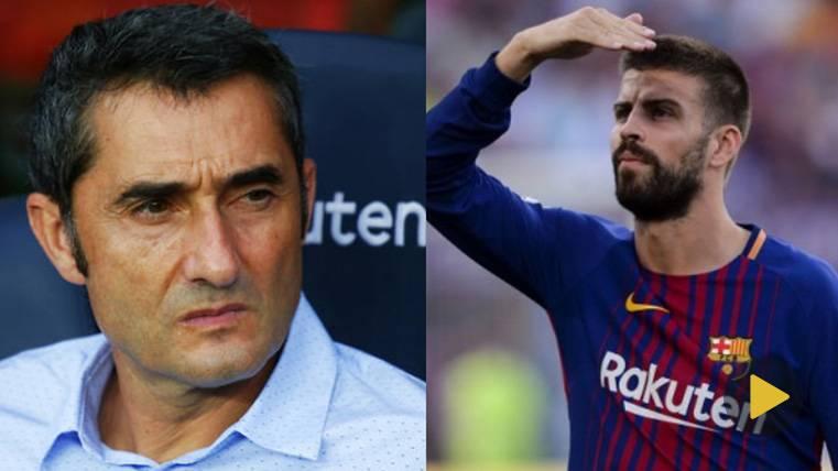 EN DIRECTO: Sigue la rueda de prensa de Piqué y Valverde