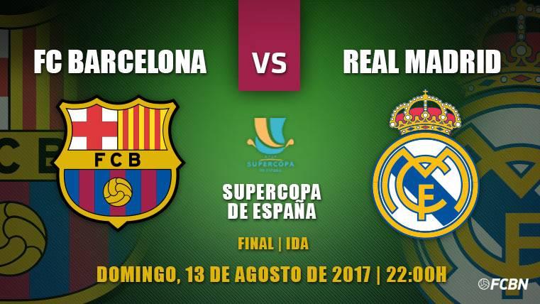 Previa del FC Barcelona-Real Madrid de Supercopa de España