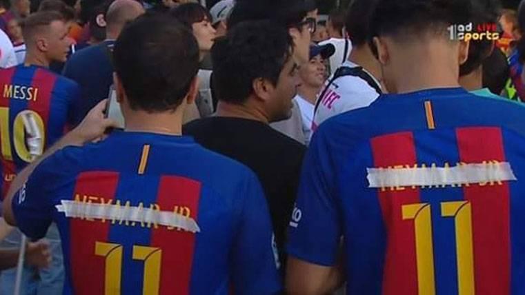 La 'venganza' de los aficionados del Barça con Neymar Jr