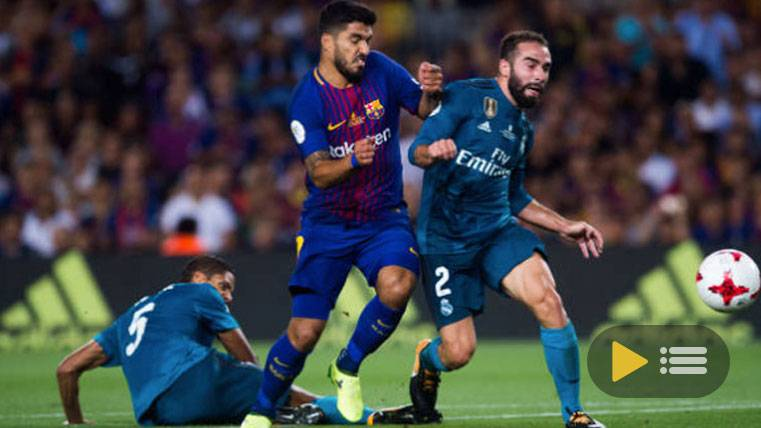 Vídeo resumen: FC Barcelona 1 Real Madrid 3 - Supercopa