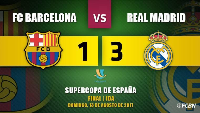 El Madrid golpea a un Barça fundido y acerca la Supercopa