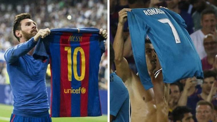 ENVIDIOSO: ¡Cristiano imitó la celebración de Leo Messi!