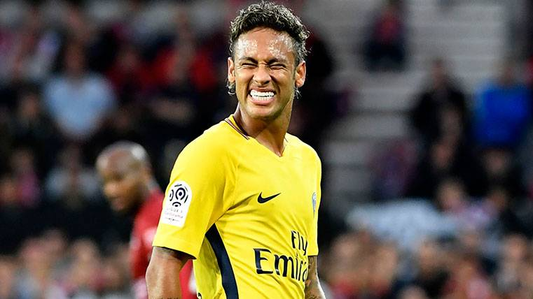 Neymar se olvida del Barça liderando y marcando con el PSG
