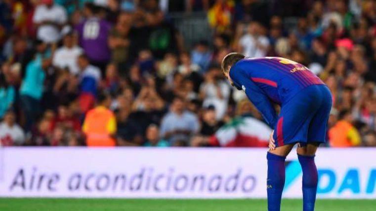 """""""El error de Piqué lo condicionó todo y cambió el partido"""""""