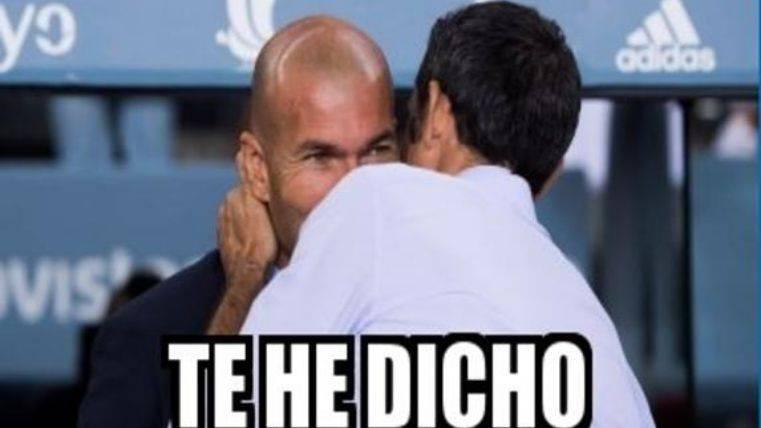"""Este es el mejor """"meme"""" del Barcelona - Real Madrid"""
