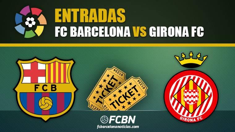 Entradas FC Barcelona vs Girona