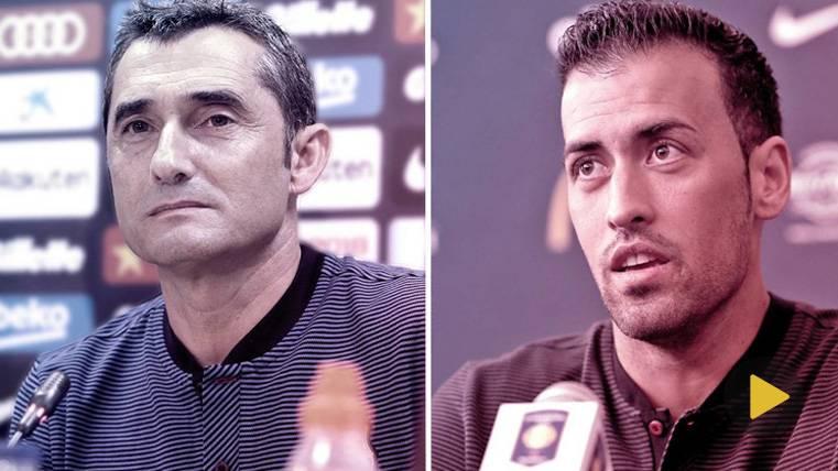 EN DIRECTO: Rueda de prensa de Busquets y Valverde
