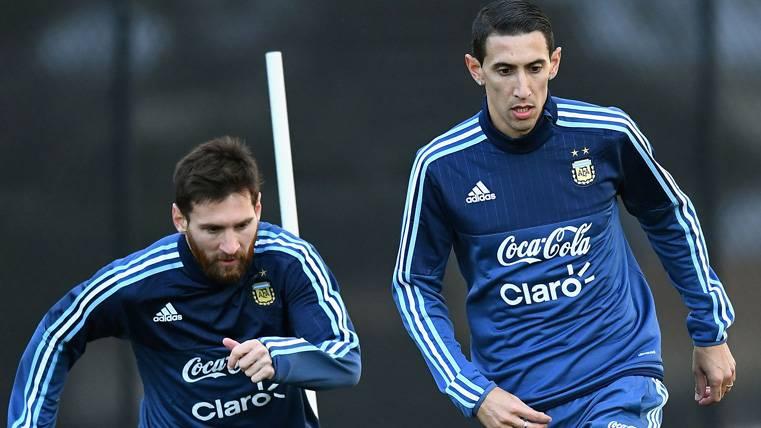 Mensaje bromista de Di María a Messi, Cristiano y compañía