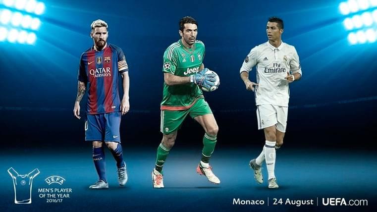 Leo Messi, candidato a Mejor Jugador de la UEFA