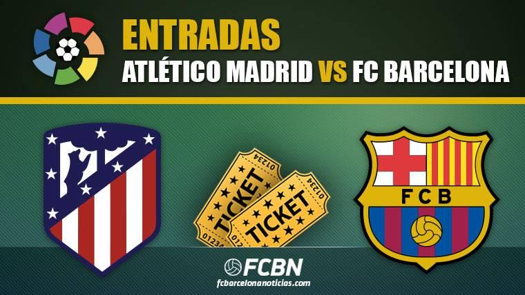 Entradas Atlético Madrid vs FC Barcelona