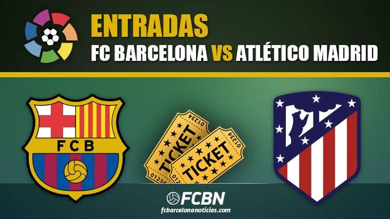 Entradas FC Barcelona vs Atlético Madrid