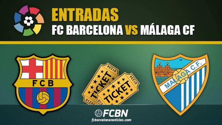 Entradas FC Barcelona vs Málaga