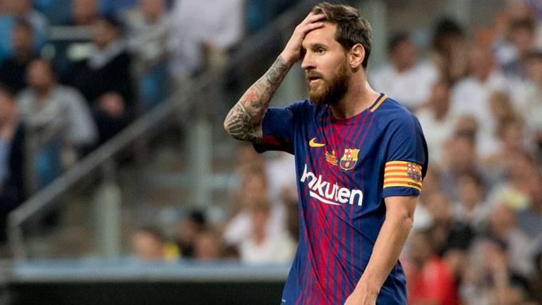Messi y Suárez, tristes y desconectados en el Bernabéu