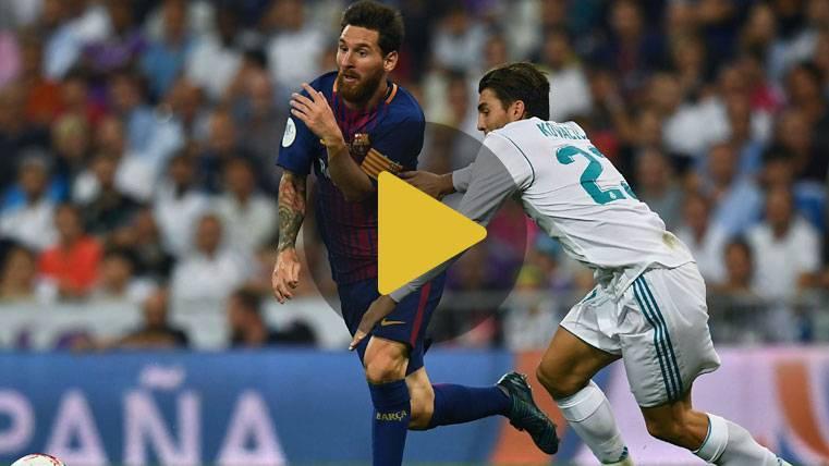 Vídeo resumen: Real Madrid 2 FC Barcelona 0 - Supercopa