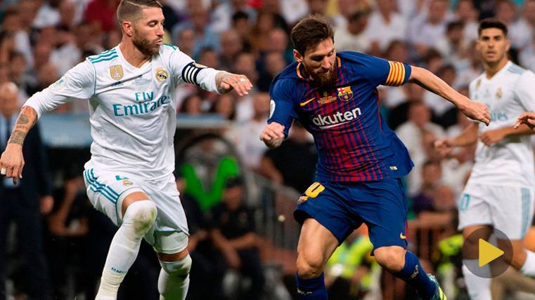 Tremendo cabreo de Messi tras una 'vacilada' de Ramos