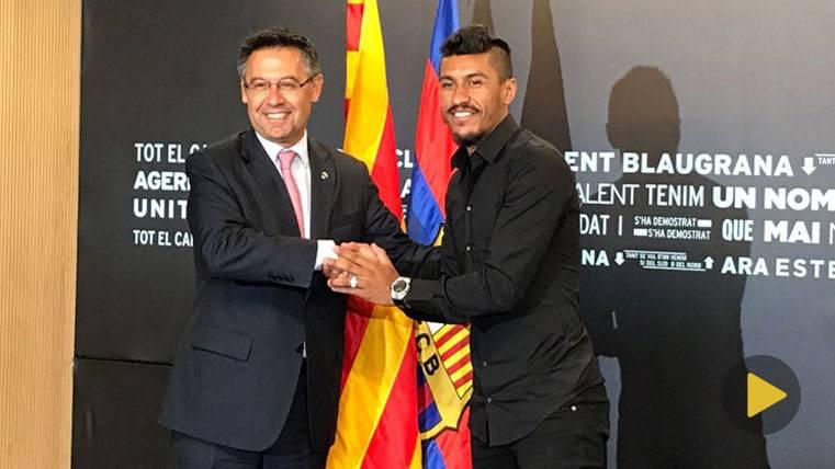 EN DIRECTO: Sigue la presentación de Paulinho con el Barça