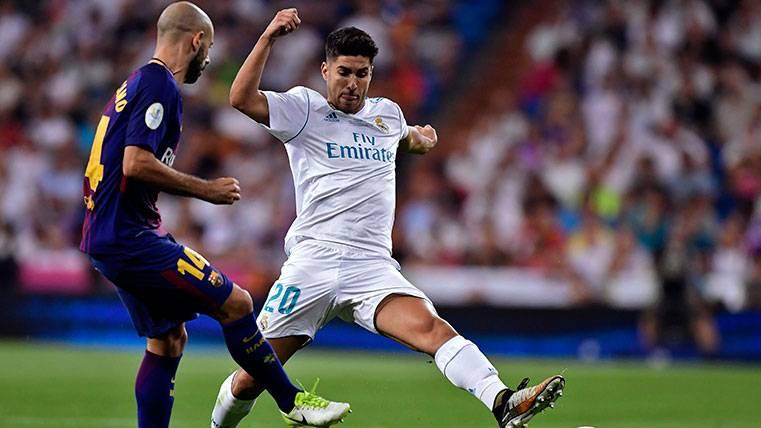 La juventud del Real Madrid supera a Javier Mascherano