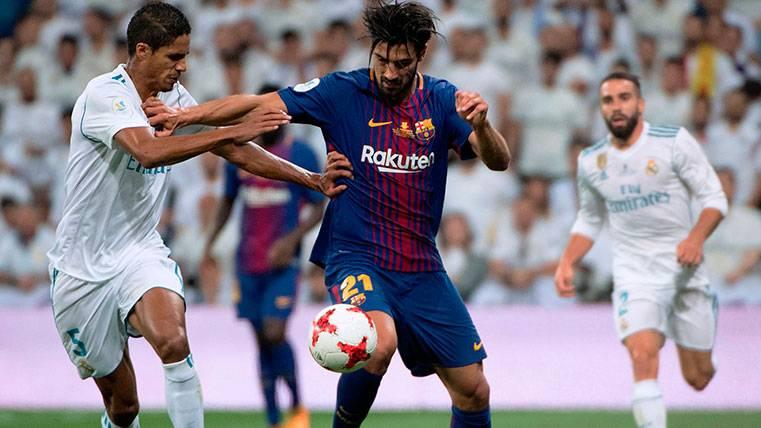 André Gomes pierde una nueva oportunidad en el Barça