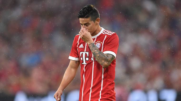 Desvelado el sueldo que cobrará James en el Bayern Múnich
