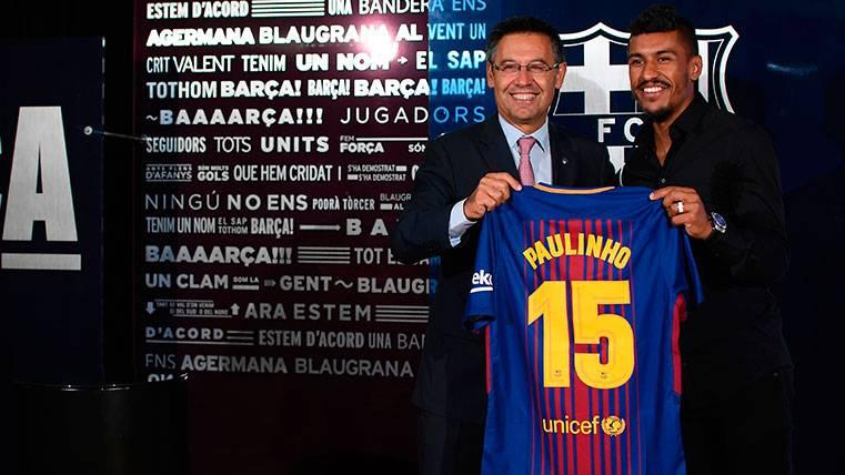 El dorsal '15' de Paulinho, con buenos y malos precedentes