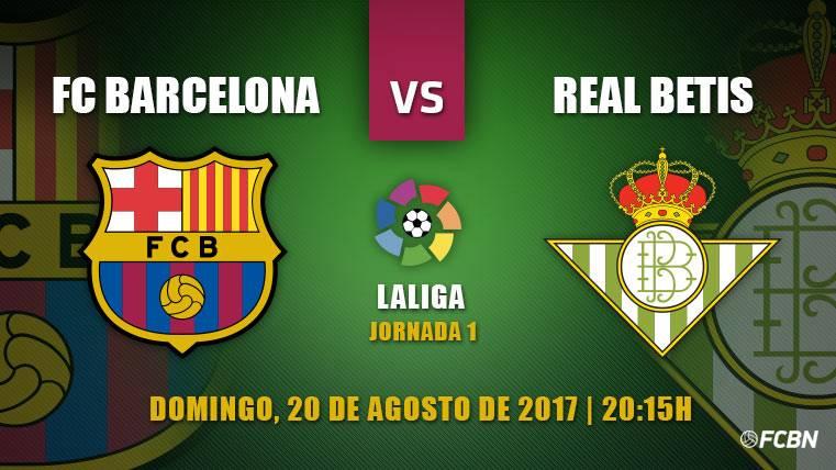 Barça-Betis: A por la primera victoria y sin experimentos