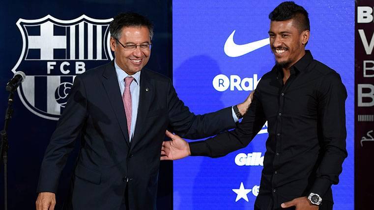 OFICIAL: ¡Paulinho no debutará con el Barça frente al Betis!