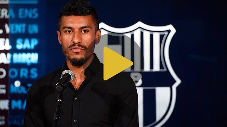 Paulinho se 'desnuda' en su entrevista más íntima en el Barça