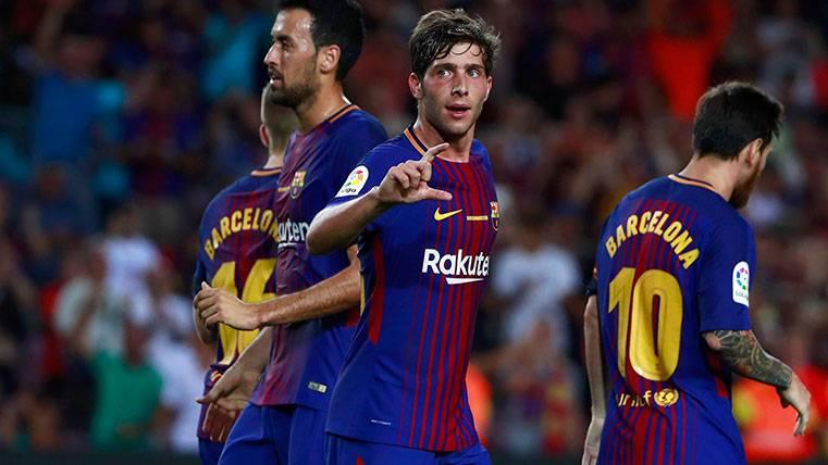 Sergi Roberto, un todoterreno para el Barça de Ernesto Valverde