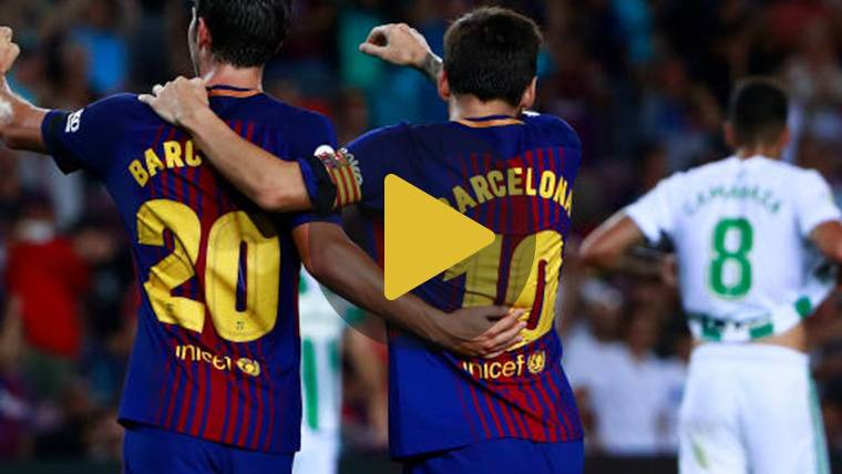 Vídeo resumen: FC Barcelona 2 Real Betis 0