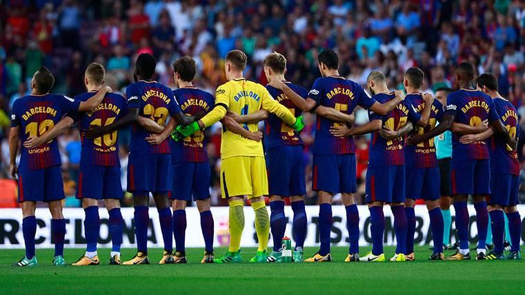 Este domingo, en el Camp Nou, #TodosFueronBarcelona