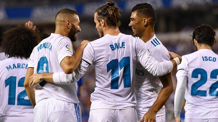 Bale y Benzema, las caras visibles de una crisis blanca