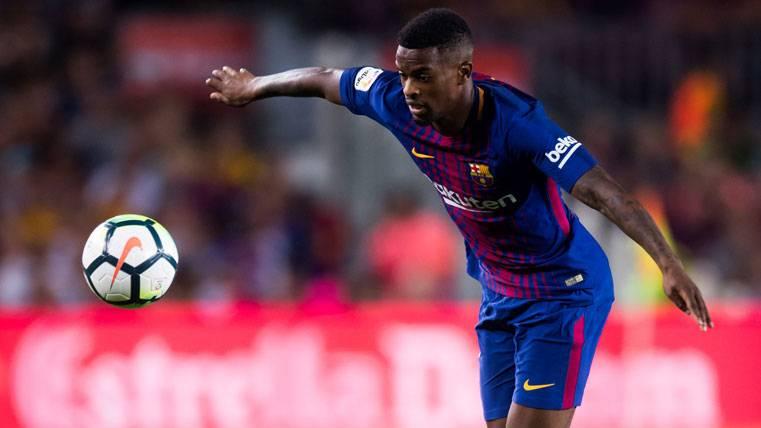 Semedo quiere seguir jugando al lado de Messi en el Barça