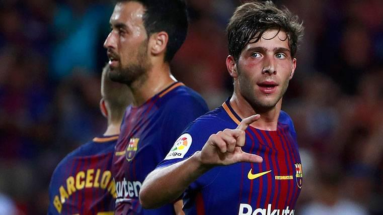 Sergi Roberto, un gol y una dedicatoria muy especial