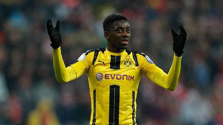 En Dortmund preocupa el plante de Ousmane Dembélé